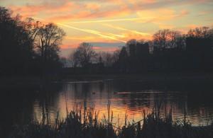 November: Golden sunset over the lake Photo courtesy of John Plevin